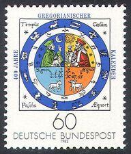 Alemania 1982 calendario gregoriano/Zodíaco Signos/tiempo/historia 1v (n25102)