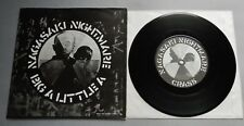 """Crass - Nagasaki Nightmare UK 1980 Crass Records 7"""" Single Poster Sleeve"""
