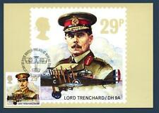 GREAT BRITAIN - GRAN BRETAGNA - Cart. Post. - 1986 - La Royal Air Force (Lord Tr