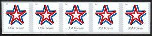 USA Sc. 5362 (55c) Star Ribbon 2019 MNH PNC5