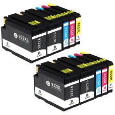 10 x Compatible Ink HP 932XL for HP Officejet 6600 6700 7110 6100 7510 7610 7612