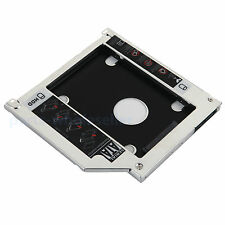 """2nd SATA Disco Rigido HD HDD SSD caddy ottica per Macbook PRO 13"""" 15"""" 17"""" A1278"""