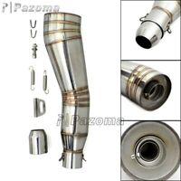 Dirt Bike ATV Quad Exhaust Muffler Pipe Silencer Slip On 38-51mm For 125-1000cc