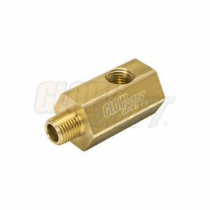 GlowShift Oil Sensor Thread Adapter for Ford Mustang GT & F150 5.0L Coyote