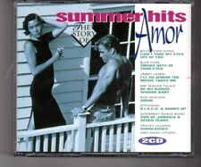 (HQ693) Summer Hits, The Story of Amor - 1993 CD set