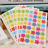 400pcs Smile Stars Decal School Children Kids Teacher Label Reward Cute Sticker