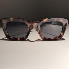 A J Morgan Square Sunglasses Torte Brown Tortoise