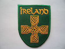 Eire Irish Ireland Sew On / Iron On Embroidered Patch Rugby Football MMA