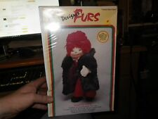 "Designer Furs Mink Coat Kit - For Cabbage Patch and Other 16-18"" Dolls"