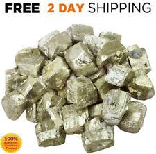 1 LB IRON PYRITE LOT Crystals Raw Gold 100% Natural Healing Stone Mix Bulk LARGE