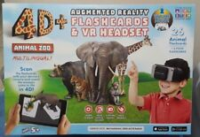 Utopia 4D 360 Augmented Reality Sets VR Headset, Interactive Cards 12 Languages