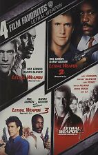 Lethal Weapon/Lethal Weapon 2/Lethal Weapon 3/Lethal Weapon 4, New, DVD, Rare