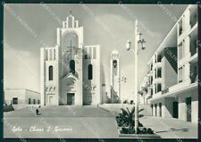 Caltanissetta Gela Chiesa San Giacomo Foto FG cartolina QT5806