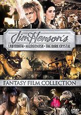 Jim Henson Fantasy Film Collectors Box (Dvd, 2006, 3-Disc Set) - New