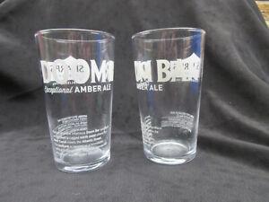 2 X BRAND NEW DOOM BAR PINT GLASSES