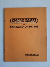 More details for 1938 spear's games and kindergarten occupations catalogue