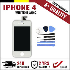A+ LCD TOUCH SCREEN VITRE DISPLAY/SCHERM/ÉCRAN WHITE BLANC & TOOLS FOR IPHONE 4