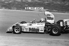 9x6 Photograph Damien Magee F5000 Ram Racing Chevron B24 , Zandvoort 1974