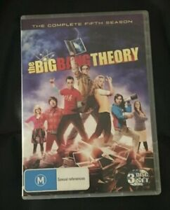 The Big Bang Theory : Season 5 (2012 : 3 Disc DVD Set) Brand New Sealed R4
