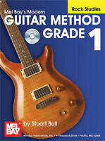 MEL BAY  21657BCD Modern Guitar Method Grade 1: Rock Studies (Book/CD Set)  by S