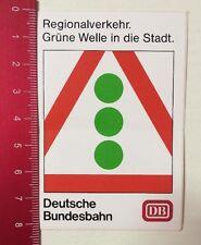 Aufkleber/Sticker: DB - Deutsche Bundesbahn-Grüne Welle In Die Stadt (040316113)