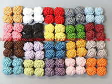 New Silk Knot Cufflinks Cuff Links 20 Pairs C15