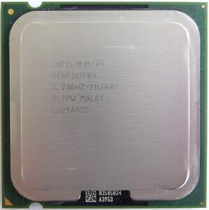 Intel Pentium 4 CPU 3.2 GHz / 1M / 800 Mhz 540J SL7PW LGA 775 socket HT