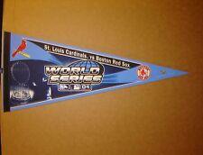 2004 World Series MLB Red Sox vs Cardinals Baseball Pennant