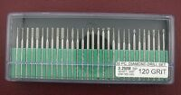 "30 Piece 120 Grit Diamond Drill Set Lapidary Tool 3/32"" TK4120"