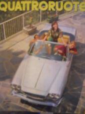 Quattroruote 105 1964 Simca 1500 - BMW 1800 - Scheda tecnica e test su strada