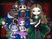 Nutcracker Suite Christmas ballet art fae CANVAS PRINT Jasmine Becket-Griffith