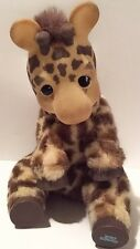 Vintage Ed Kaplan Giraffe Plush Zoo Borns Stuffed Animal Baby Toy Collectible