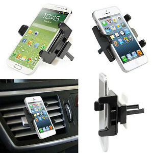 360°Car Air Vent Mount Cradle Holder Stand For iPhone Mobile Smart Phone GPS