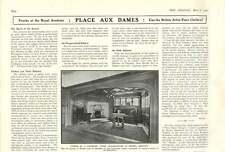 1909 Luxurious Tudor Billiard Room Messrs Liberty Irish Handmade Carpets