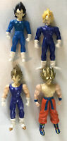 DBZ Dragon ball Z Super Saiyan Vegeta Goku (1996) loose action figure Lot Of 4