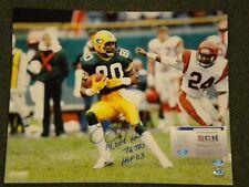 James Lofton Signed Autograph PACKERS 16x20  Photo W/Triple Inscription SCH Auth