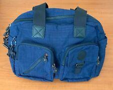 NEW Kipling Blue Defea Bag With Grab Handles & Cross Body  *NEW*