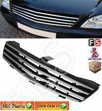 BRABUS STYLE FRONT GRILLE MERCEDES CLS CLASS W219 C219 2006-2009 CHROME GRILL