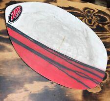 Zap Skimboard Skimmer BULLET White Red Ocean Beach Surf Vacation Limit 80 lbs
