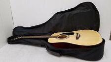George Washburn Lyon Model Lg1Pak #Bc8070440 Acoustic Guitar + Case