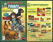 Philippines SUPER FUNNY KOMIKS The Babe And The Beast COMICS