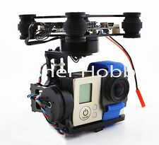 3-Axis Brushless Gimbal Camera Mount w/ 32bit Storm32 Control For Gopro 3 4 FPV