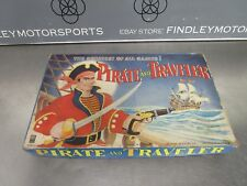 Vintage Milton Bradley Pirate and Traveler Board Game 4563B