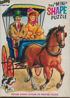 Vintage Fairchild Mini Shape Horse and Buggy by Jean C Bell jigsaw puzzle