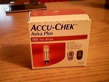 accu chek aviva plus test strips 100 new 2021-10-31.