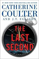 The Last Second A Brit in the FBI Catherine Coulter JT Ellison Hardcover VG