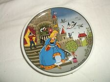 "Aschenbrodel CINDERELLA Miniature Plate 3 3/4"" Barbara Furstenhofer"