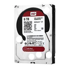 """Western Digital Caviar Rojo 6 Tb Sata 6 Gb/s 64 MB de caché 3.5 """"NAS Disco Duro Escritorio"""
