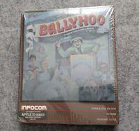 NEW Ballyhoo Apple II Infocom vintage computer adventure game 1986 sealed NIB