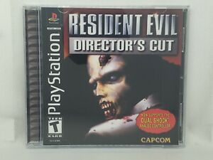 Resident Evil Director's Cut PS1 Custom Replacement Case NO DISC - FAST SHIP